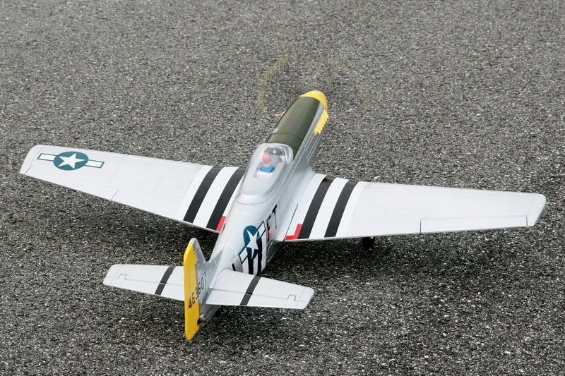 Maiden Flight- Dynam P-51 Mustang