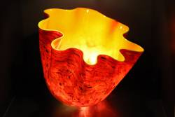 Chihuly-Red-Bowl