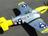Airfield P-51 Mustang - 1450mm