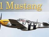 Dynam P-51 Mustang 1200mm